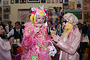GRAYSON PERRY, PAM HOGG, Royal Academy of arts summer exhibition summer party. Piccadilly. London. 4 June 2019