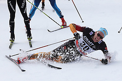 10.01.2015, Langlaufstadion, Lago di Tesero, ITA, FIS Tour de Ski, Langlauf Herren, Mass Start 15Km, im Bild Tscharnke Tim (Ger) // during the Men 15 km Cross Country of the FIS Tour de Ski 2015 at the Cross Country Stadium, Lago di Tesero, Italy on 2015/01/10. EXPA Pictures ©  2013, PhotoCredit: EXPA/ Federico Modica