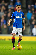 Gareth McAuley (#36) of Rangers FC during the Ladbrokes Scottish Premiership match between Rangers and Aberdeen at Ibrox, Glasgow, Scotland on 5 December 2018.