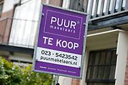 HAARLEM- te koop, verkocht borden Haarlem  copyright MICHEL UTRECHT