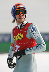 Primoz Pikl of SSK Ljubno BTC at Slovenian National Championship in Ski Jumping on February 12, 2008 in Kranj, Slovenia . (Photo by Vid Ponikvar / Sportal Images).