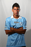 CAMPEONATO ARGENTINO Soccer / Football. <br /> TEMPERLEY Portraits <br /> Bs.As. Argentina. - March 18, 2015<br /> Here Temperley player Federico Bruno<br /> © PikoPress