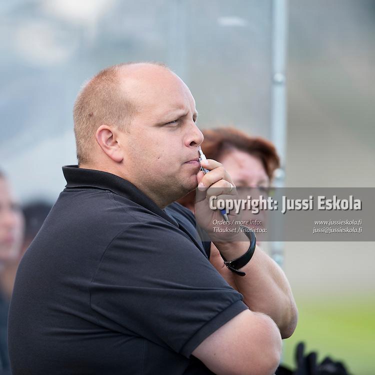 Rami Rosenberg. HJK - Ilves. Naisten Liiga. Helsinki 25.8.2012. Photo: Jussi Eskola