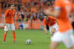 04-06-2014 NED: Vriendschappelijk Nederland - Wales, Amsterdam<br /> Nederland wint met 2-0 van Wales / Daley Blind, Stefan de Vrij