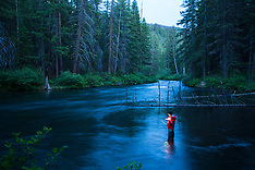 Metolious River Fly Fishing Photos - Images