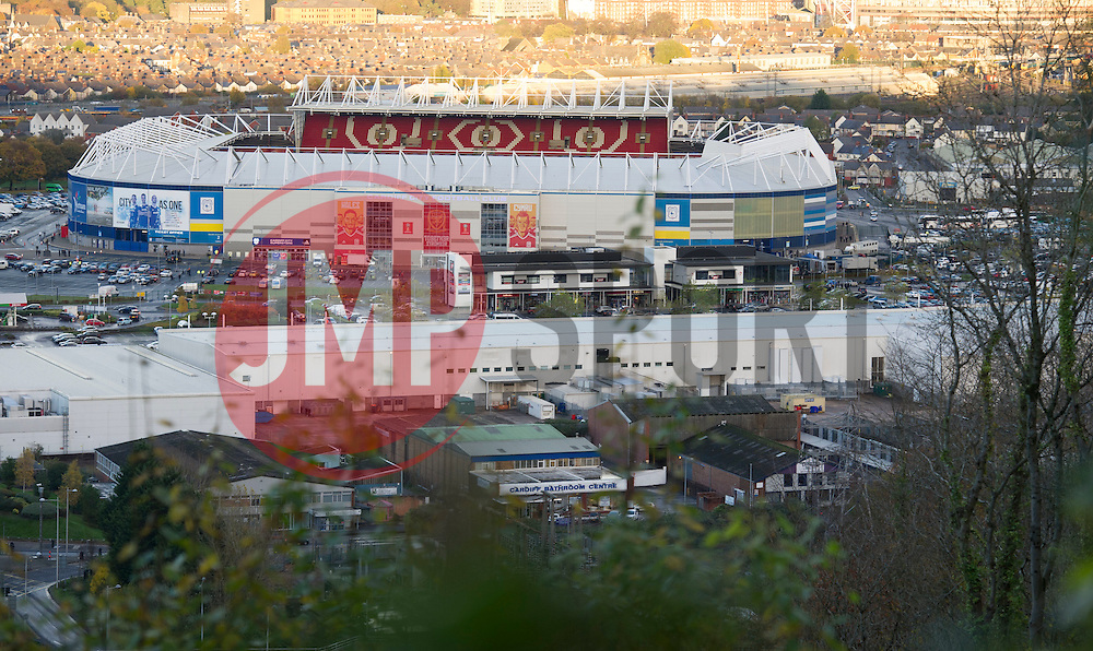 General view of the Cardiff City stadium.  - Mandatory by-line: Alex James/JMP - 12/11/2016 - FOOTBALL - Cardiff City Stadium - Cardiff, United Kingdom - Wales v Serbia - FIFA European World Cup Qualifiers