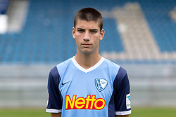 07.07.2015, Rewirpower Stadion, Bochum, GER, 2. FBL, VfL Bochum, Fototermin, im Bild Cagatay Kader (Bochum) // during the official Team and Portrait Photoshoot of German 2nd Bundesliga Club VfL Bochum at the Rewirpower Stadion in Bochum, Germany on 2015/07/07. EXPA Pictures &copy; 2015, PhotoCredit: EXPA/ Eibner-Pressefoto/ Hommes<br /> <br /> *****ATTENTION - OUT of GER*****