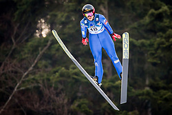 Lea Lemare (FRA) during 1st Round at Day 1 of FIS Ski Jumping World Cup Ladies Ljubno 2018, on January 27, 2018 in Ljubno ob Savinji, Ljubno ob Savinji, Slovenia. Photo by Ziga Zupan / Sportida