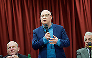 Rainbow Hamlets Mayor of Tower Hamlets Hustings in Bethnal Green, London, Great Britain <br /> 1st June 2015 <br /> <br /> <br /> <br /> <br /> Jack Gilbert <br /> CEO<br /> Rainbow Hamlets<br /> <br /> <br /> <br /> <br /> Photograph by Elliott Franks <br /> Image licensed to Elliott Franks Photography Services