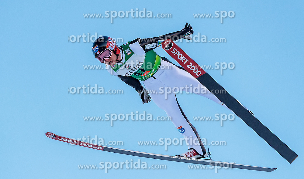 25.11.2016, Nordic Arena, Ruka, FIN, FIS Weltcup Nordische Kombination, Nordic Opening, Kuusamo, Skisprung, im Bild Haavard Klemetsen (NOR) // Haavard Klemetsen (NOR) during Skijumping of FIS Nordic Combined World Cup of the Nordic Opening at the Nordic Arena in Ruka, Finland on 2016/11/25. EXPA Pictures © 2016, PhotoCredit: EXPA/ JFK