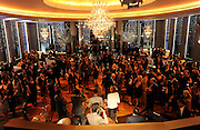 Guests enjoy the opening of the historic Rainbow Room at 30 Rockefeller Plaza, Wednesday, Oct. 1, 2014 in New York. (Photo by Diane Bondareff/Invision for Tishman Speyer/AP Images)