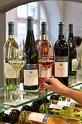 Wein Staatsweingut Meersburg, Meersburg, Bodensee, Baden-Württemberg, Deutschland