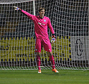 New Dundee goalkeeper Arvid Schenk - Dundee v Aberdeen, SPFL development league<br />