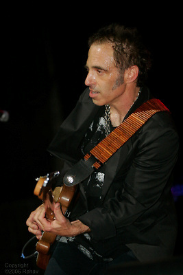 Nils Lofgren performing during the Arthur Lee benefit concert at The Beacon Theater on June 23, 2006. .