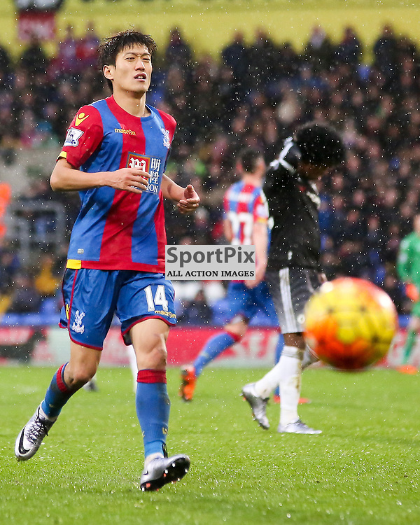 Chung Yong Lee of Crystal Palace During Crystal Palace vs Chelsea Sunday 3rd January 2016