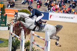 MUFF Werner (SUI), Livexus Z<br /> Mannheim - Maimarkt Turnier 2019<br /> Preis der BROSE Unternehmensgruppe GmbH & Co.KG, Coburg<br /> Int. Springprüfung mit Stechen (1.45-1,50 m) <br /> CSIYH1*<br /> Finale 7- und 8jährige Pferde<br /> 07. Mai 2019<br /> © www.sportfotos-lafrentz.de/Stefan Lafrentz