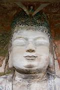 Buddha of Great Sunlight, the Chief Buddha, Dazu rock carvings, Mount Baoding, near Chongqing, China