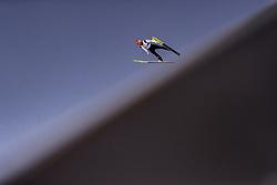 28.02.2019, Seefeld, AUT, FIS Weltmeisterschaften Ski Nordisch, Seefeld 2019, Skisprung, Herren, Qualifikation, im Bild Markus Eisenbichler (GER) // Markus Eisenbichler of Germany during his Qualification Jump of men's Skijumping of FIS Nordic Ski World Championships 2019. Seefeld, Austria on 2019/02/28. EXPA Pictures © 2019, PhotoCredit: EXPA/ JFK