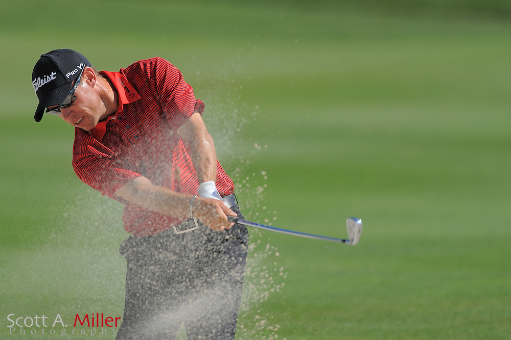 Brian Davis during the first round of the Arnold Plamer Invitational at the Bay Hill Club and Lodge on March 22, 2012 in Orlando, Fla. ..©2012 Scott A. Miller.