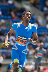 mens' 4x400 meter relay, adidas Grand Prix Diamond League track and field meet