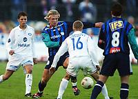 Fotball, 20. april 2002. Tippeligaen, Stabæk v Vålerenga Fotball 0-0. Marel Baldvinsson, Stabæk.