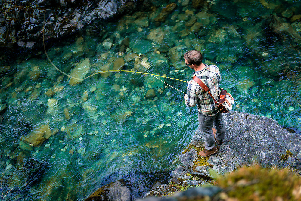 Fly Fishing off the Smith River in California