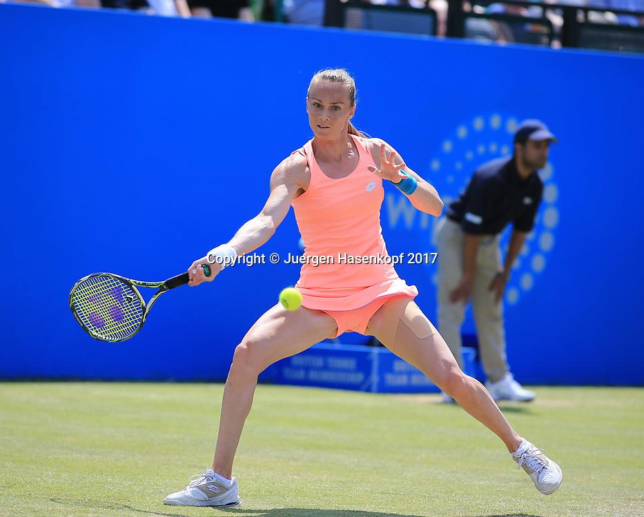 MAGDALENA RYBARIKOVA (SVK), AEGON Open Nottingham 2017<br /> <br /> Tennis -  Nottingham Open 2017 - WTA -   Nottingham Tennis Centre, Nottingham, Nottinghamshire, - Nottingham -  - Great Britain  - 17 June 2017. <br /> &copy; Juergen Hasenkopf