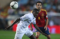 FOOTBALL - FIFA WORLD CUP 2014 - QUALIFYING - SPAIN v FRANCE - 16/10/2012 - PHOTO MANUEL BLONDEAU / AOP PRESS / DPPI - BLAISE MATUIDI
