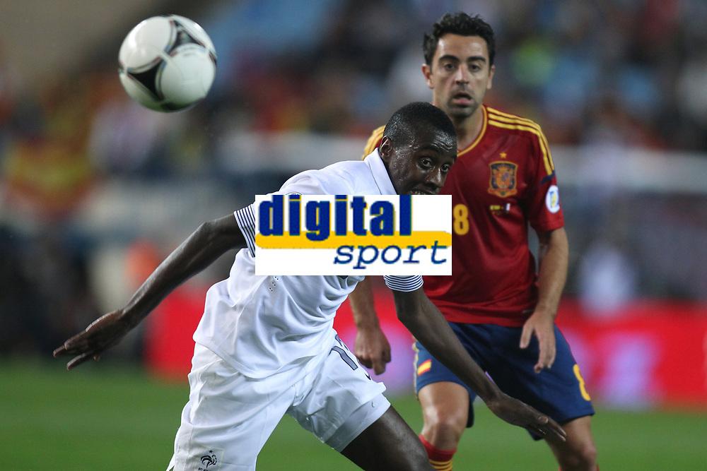 FOOTBALL - FIFA WORLD CUP 2014 - QUALIFYING - SPAIN v FRANCE - 16/10/2012 - PHOTO MANUEL BLONDEAU / AOP PRESS / DPPI - BLAISE MATUIDI