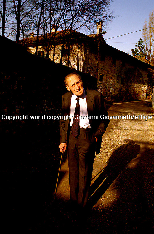 Leszek Kolakowski<br />world copyright Giovanni Giovannetti/effigie