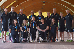 16 / 06 / 2016,  Team Paralympics Ireland pictured  at the 2016 IPC Athletic European Championships in Grosseto, Italy