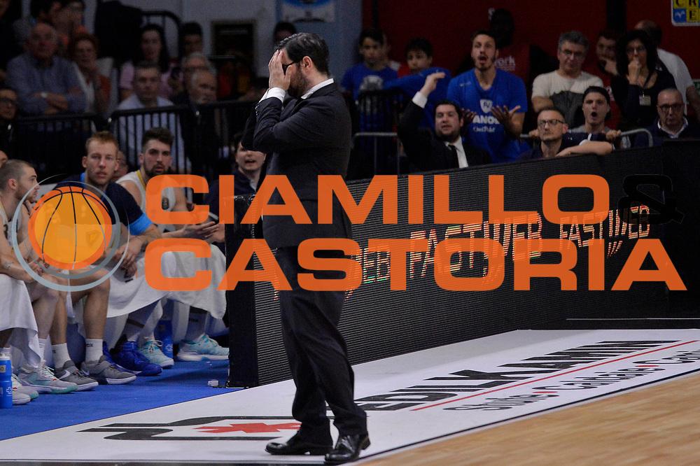 Paolo Lepore<br /> Vanoli Cremona - Germani Basket Brescia Leonessa<br /> Lega Basket Serie A 2016/2017<br /> Cremona, 09/04/2017<br /> Foto M.Ceretti / Ciamillo - Castoria