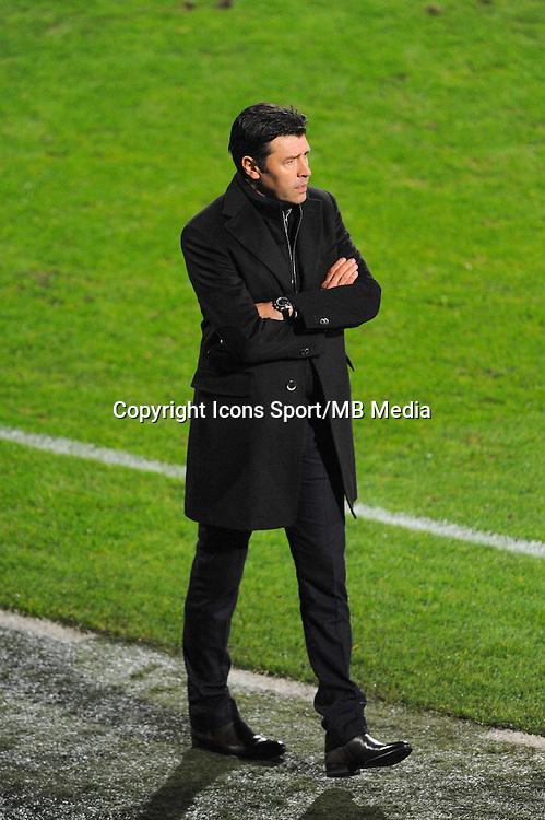 Hubert FOURNIER  - 04.12.2014 - Lyon / Reims - 16eme journee de Ligue 1  <br /> Photo : Jean Paul Thomas / Icon Sport