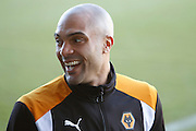 Wolverhampton Wanderers goalkeeper Carl Ikeme (1) returns from suspension for Wolves during the EFL Sky Bet Championship match between Burton Albion and Wolverhampton Wanderers at the Pirelli Stadium, Burton upon Trent, England on 4 February 2017. Photo by Richard Holmes.