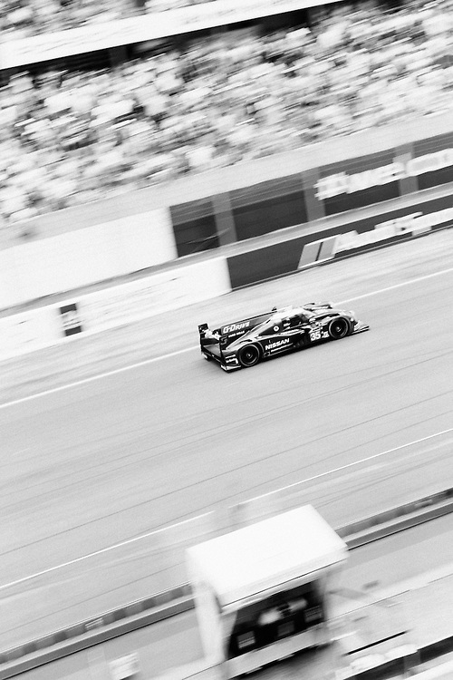The Nissan G-Drive OAK racing car (Number 35) during the 2014 Le Mans 24 race. Le Mans, France, 14th June 2014. Photo by Greg Funnell.