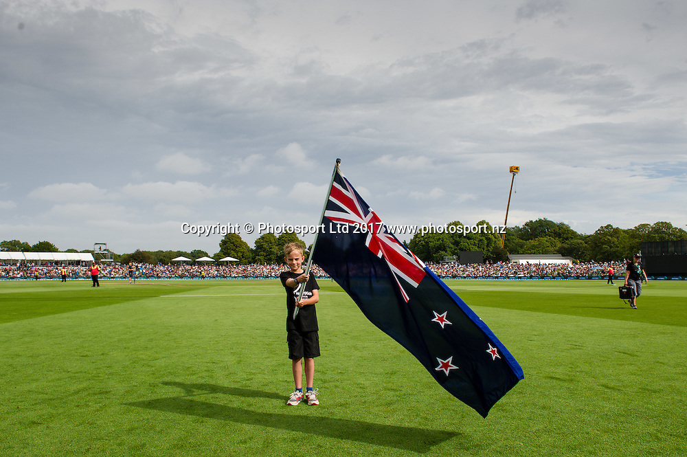 General view during the 2nd ANZ  One Day International Cricket  match, New Zealand V South Africa, Hagley Oval, Christchurch, New Zealand, 22nd Febuary 2017.Copyright photo: John Davidson / www.photosport.nz