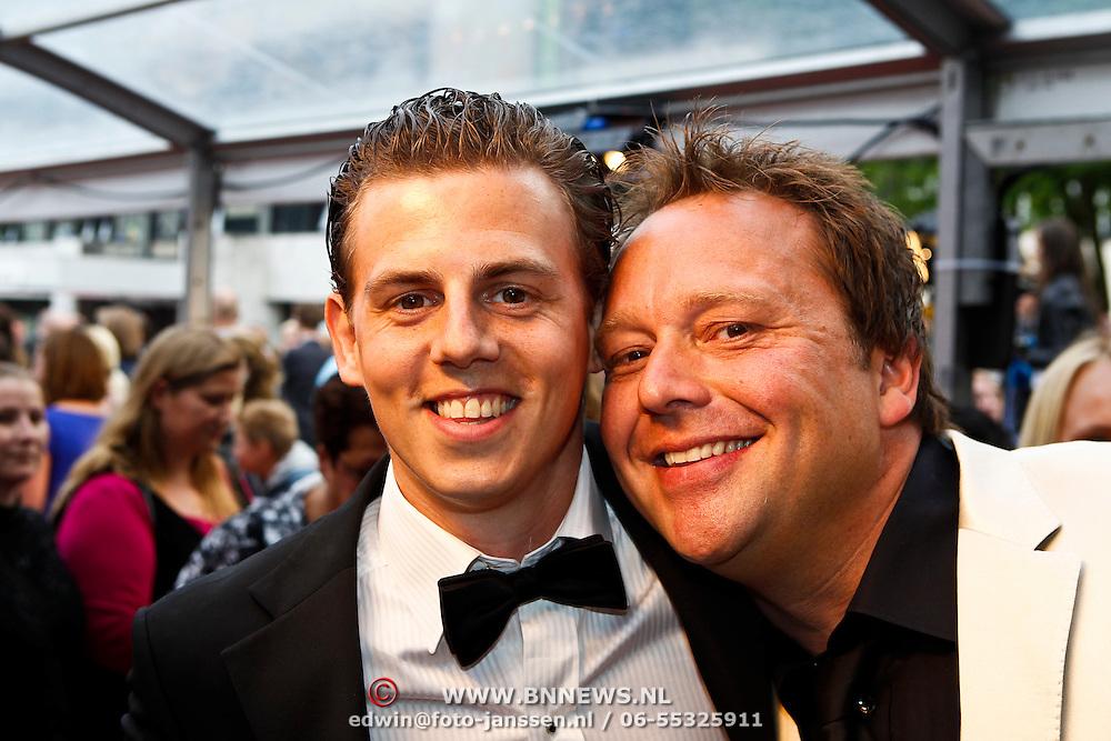 NLD/Hilversum/20100607 - Musicalawards 2010, Mike Weerts en Richard Groenendijk