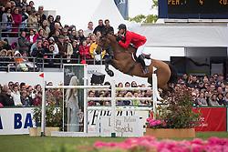 Mathy Francois Jr (BEL) - Polinska Des Isles<br /> Grand Prix Longines de la Ville de La Baule<br /> CSIO La Baule 2013<br /> © Dirk Caremans