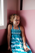 Hayley Kudro, 6, in Waynesboro, Virginia on Wednesday, June 15, 2011. Hayley, then 5, was diagnosed with a softball-sized mass near her liver that turned out to be neuroblastoma in September of 2009.