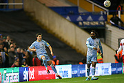Liam Walsh of Coventry City(20) crosses the ball during the EFL Sky Bet League 1 match between Coventry City and Rotherham United at the Trillion Trophy Stadium, Birmingham, England on 25 February 2020.