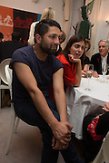 Osman Yousefzada,, Valeria Napoleone hosts a dinner at her home in honour of Judith Hopf in cerebration of her new commission at Studio Voltaire. London. 15 October 2013