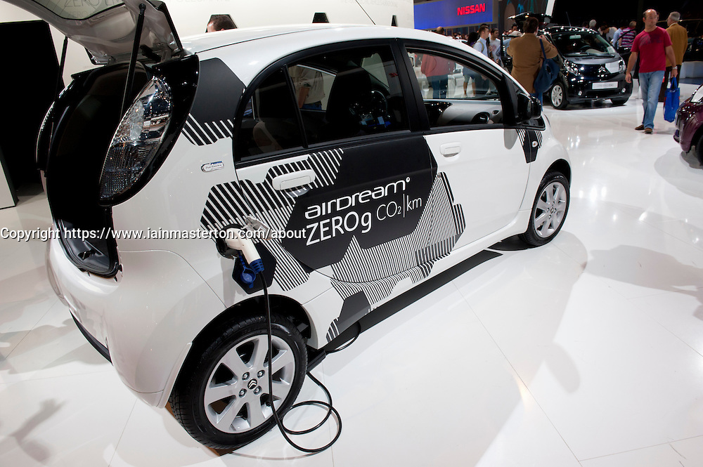 Citroen electric ION car at Paris Motor Show 2010