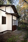 (En) Tokyo, November 2009 - In the house of Japanese writer Akira Yoshimura, near Kichijoji's Inokashira Park.<br /> His office in the garden.<br /> <br /> (Fr) Dans la maison de l'&eacute;crivain japonais Akira Yoshimura, pr&egrave;s du parc Inokashira dans le quartier de Kichijoji.<br /> Son bureau dans le jardin.