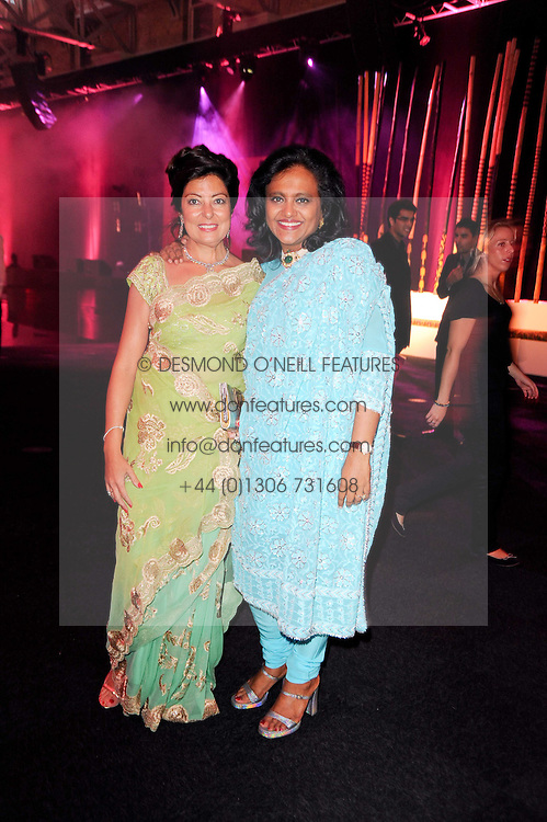 Left to right, SANGETTA TALUKDAR and SUNITA KUMAR at ARTiculate, Pratham UK Fundraising Gala held at The Old Billingsgate Market, City Of London on  11th September 2010 *** Local Caption *** Image free to use for 1 year from image capture date as long as image is used in context with story the image was taken.  If in doubt contact us - info@donfeatures.com<br /> Left to right, SANGETTA TALUKDAR and SUNITA KUMAR at ARTiculate, Pratham UK Fundraising Gala held at The Old Billingsgate Market, City Of London on  11th September 2010