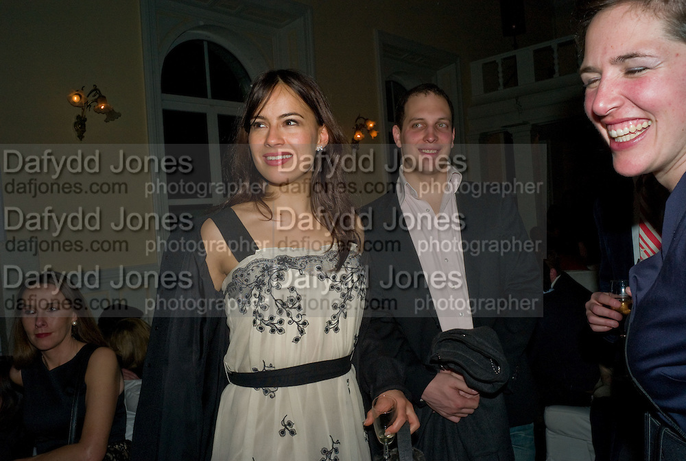 SOPHIE WINKLEMAN; LORD FREDERICK WINDSOR.. Dinner, Awards ceremony and dancing in aid of the Knights of Malta. Maloja Palace.  St. Moritz, Switzerland. 24 January 2009 *** Local Caption *** -DO NOT ARCHIVE-© Copyright Photograph by Dafydd Jones. 248 Clapham Rd. London SW9 0PZ. Tel 0207 820 0771. www.dafjones.com.<br /> SOPHIE WINKLEMAN; LORD FREDERICK WINDSOR.. Dinner, Awards ceremony and dancing in aid of the Knights of Malta. Maloja Palace.  St. Moritz, Switzerland. 24 January 2009
