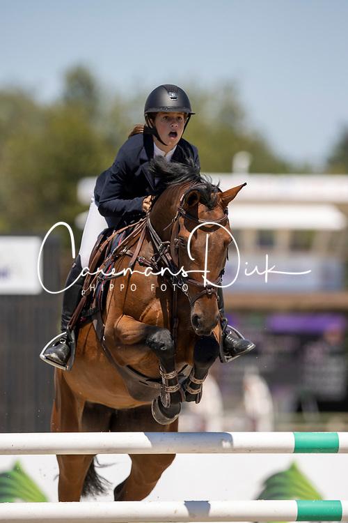 Biebuyck Camille, BEL, Kenya Van De Kleinheide<br /> Belgisch Kampioenschap Jeugd Azelhof - Lier 2020<br /> <br /> © Hippo Foto - Dirk Caremans<br /> 30/07/2020
