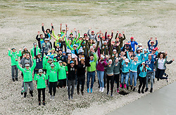 Group photo during official presentation of the outfits of the Slovenian Ski Teams before new season 2016/17, on October 18, 2016 in Planica, Slovenia. Photo by Vid Ponikvar / Sportida