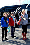 De vierde editie van De Hollandse 100 in Thialf, Heerenveen. De Hollandse 100 is een initiatief van stichting Lymph&amp;Co. Stichting Lymph&amp;Co steunt grensverleggend onderzoek om de behandeling van lymfklierkanker te verbeteren<br /> <br /> Op de foto:  Prinses Margriet