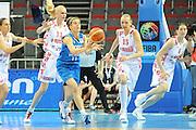 DESCRIZIONE : Riga Latvia Lettonia Eurobasket Women 2009 Qualifying Round Russia Italia Russia Italy<br /> GIOCATORE : Raffaella Masciadri<br /> SQUADRA : Italia Italy<br /> EVENTO : Eurobasket Women 2009 Campionati Europei Donne 2009 <br /> GARA : Russia Italia Russia Italy<br /> DATA : 14/06/2009 <br /> CATEGORIA : passaggio<br /> SPORT : Pallacanestro <br /> AUTORE : Agenzia Ciamillo-Castoria/M.Marchi