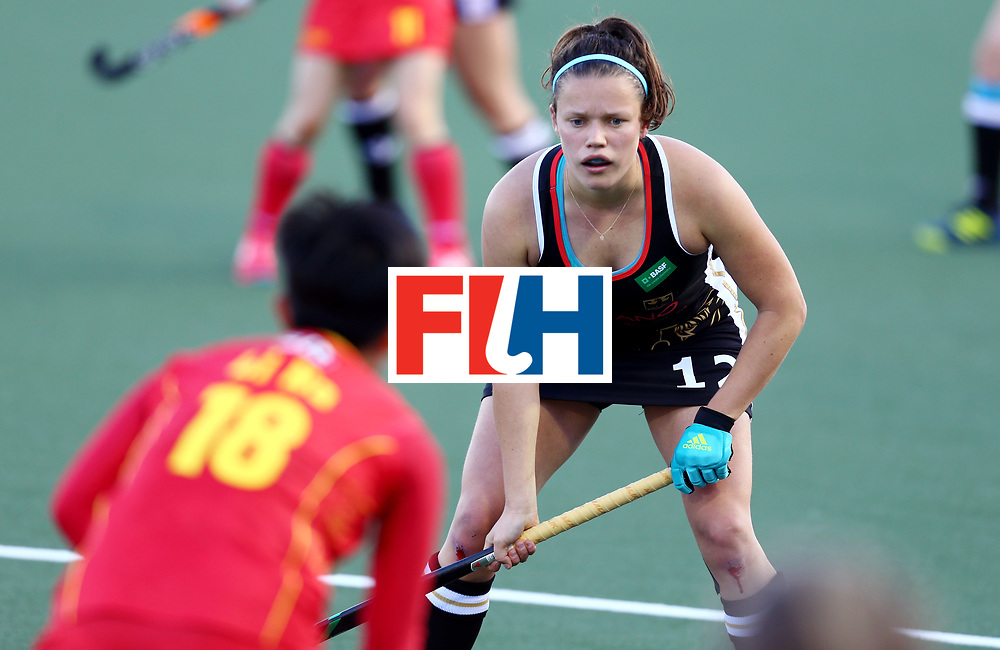 \New Zealand, Auckland - 19/11/17  <br /> Sentinel Homes Women&rsquo;s Hockey World League Final<br /> Harbour Hockey Stadium<br /> Copyrigth: Worldsportpics, Rodrigo Jaramillo<br /> Match ID: 10297 - GER vs CHI<br /> Photo: (12) STAPENHORST Charlotte